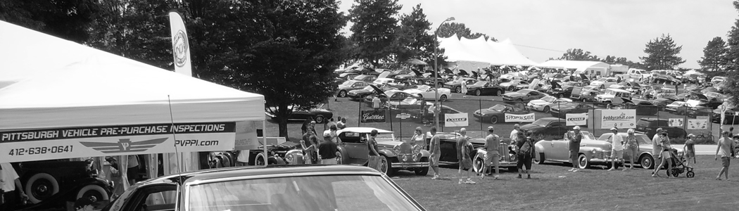 Pittsburgh Vehicle PPI tent at the PVGP